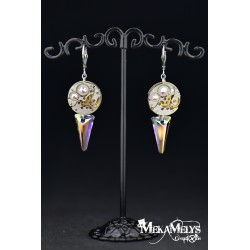 "Boucles d 'oreilles ""Spiky Diamond"""