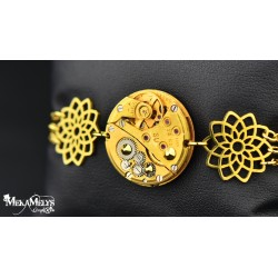 "Bracelet  "" Sunflower ""Gold"