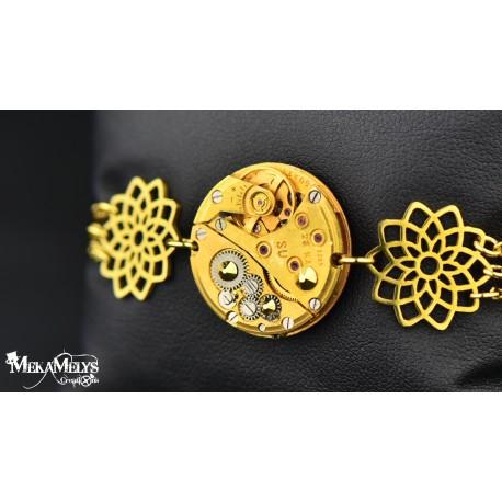 """Bracelet  """" Sunflower """"Gold"""