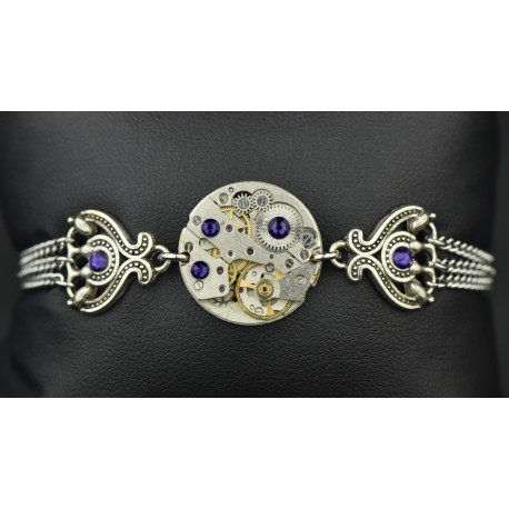 "Bracelet Deep Purple ""Nativis"""