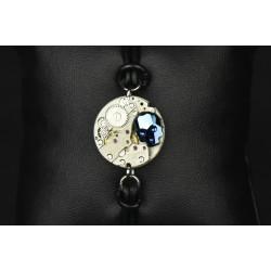 Bracelet Skull blue