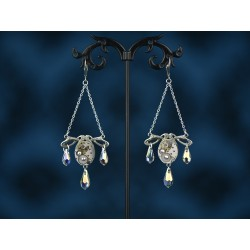 "Boucles d'oreilles Diamond "" Slava """