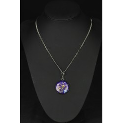 Collier purple ALice