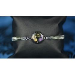"Bracelet ""Blue Cheshire"""