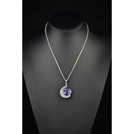 Collier Twin moon