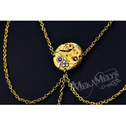 """Collier mécanique """" Gold Airless"""""""