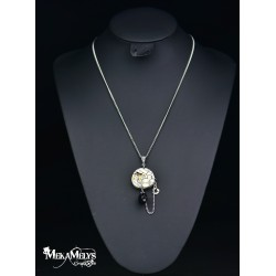 "Collier mécanique  ""Unchained"" Black"