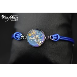 "Bracelet "" Blue Dragoon"""