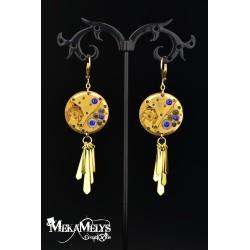 """Boucles d'oreilles """" Luna Gold"""""""