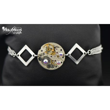 """Bracelet """"Metric """" Crystal"""