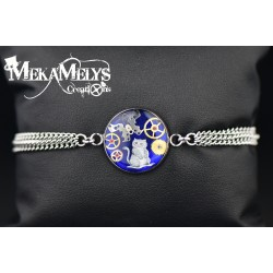 "Bracelet Blue "" Cheshire """