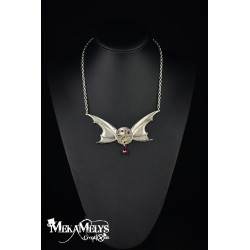 "Collier Red ""Batgirl"""