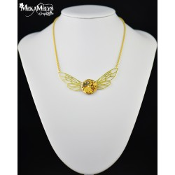 "Collier ""Dragonfly "" Gold"